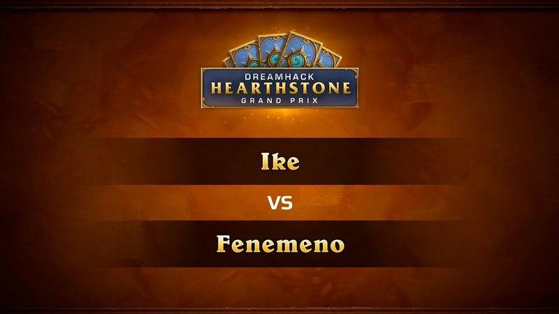 Ike vs Fenemeno 1 4 DreamHack Austin 2018