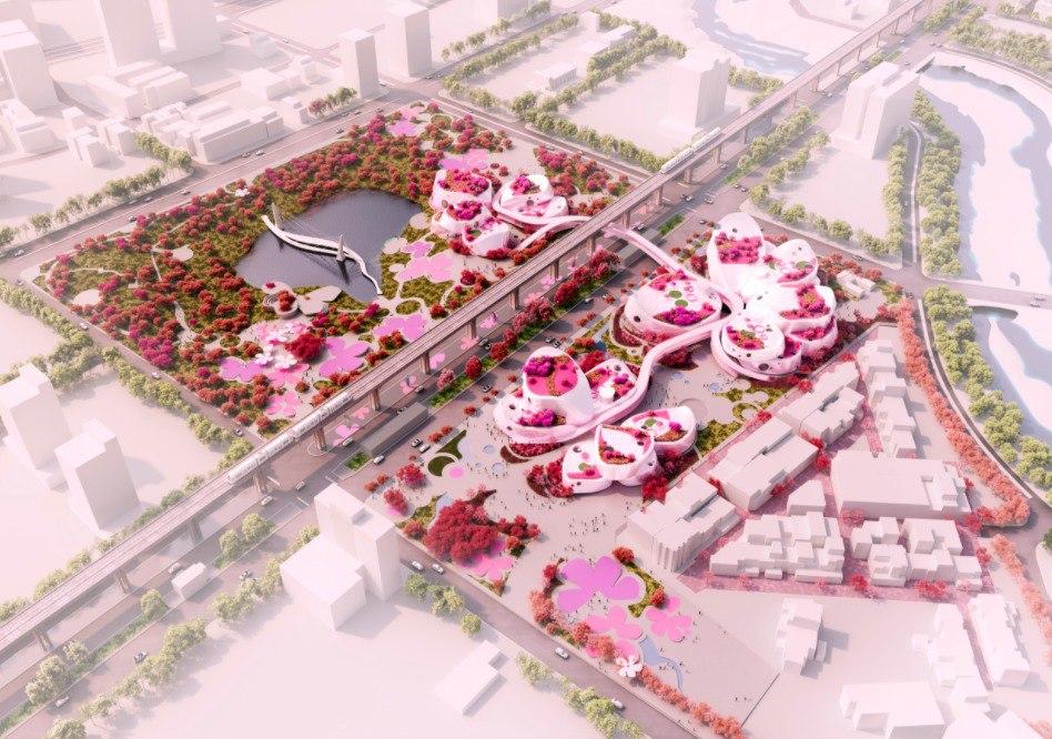 MVRDV Releases Alternative Proposal for Taoyuan Museum of Art