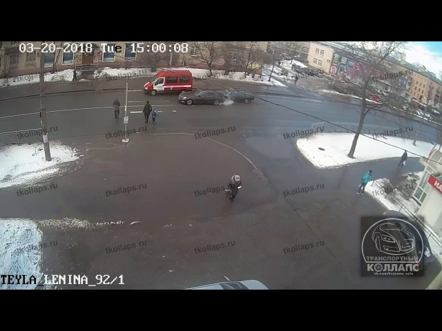 Авария в Красном Селе 20.03.18