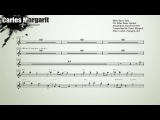 Bags' GrooveMilt Jackson. Miles Davis' Solo. Transcribed by Carles Margarit
