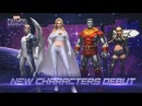 [MARVEL Future Fight] New Characters Uniforms are released!