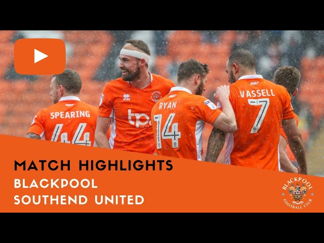 Match Highlights | Blackpool 1 Southend United 1