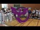 Démonstration Arte Capoeira Gavião Branco Milho Verde Pilão Haiti Bocão Novinha Bala
