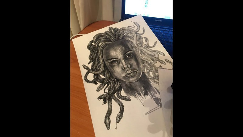 Painting in progress Heavenly Human