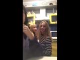 три лесбиянки веселятся в перископе
