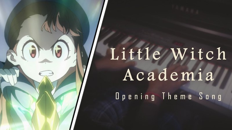 Little Witch Academia - Chamber of Time - Piano