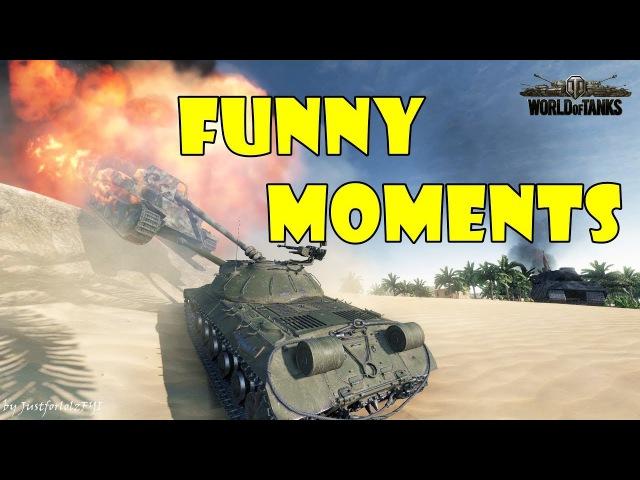 World of Tanks - Funny Moments | Week 4 January 2018