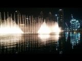 Ночной Дубай. Поющие фонтаны. 2017