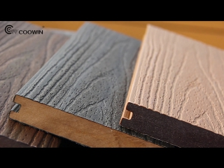 #Coowin Style Co-extruded Wood Plastic Composite Decking (CO-03 138x23mm) ВИДЕО