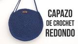 Bolso Capazo Redondo de Crochet