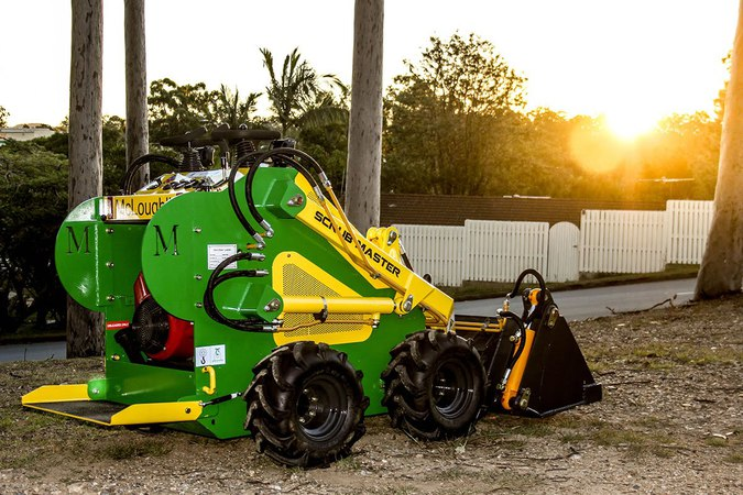 Mcloughlin Scrub Master Mini Loader