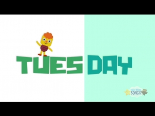 Days Of The Week Song _ Kids Songs _ Super Simple Songs