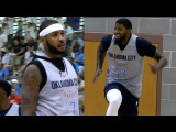 Paul George Carmelo Anthony DOMINATE Thunder Scrimmage October 1 2017 2017 NBA Preseason
