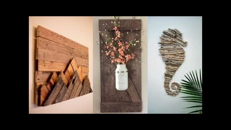 20 projetos da decoração da parede de DIY que farão seu olhar da sala impressionante