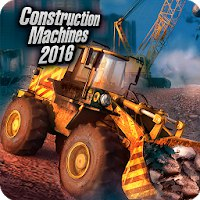 Construction Machines 2016 [Мод: много денег]