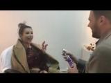 Съемки клипа Проститься . Ани Лорак и Эмин Агаларов. Алан Бадоев.