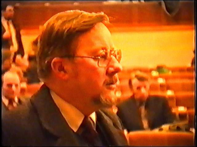 Vytautas Landsbergis appeal to the president of the USSR 1991 01 13 in russian