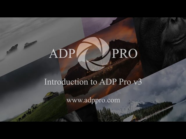 Introduction to ADP Pro v3