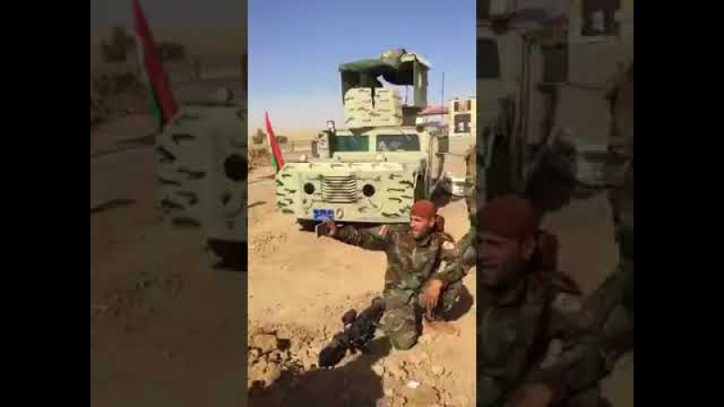 BREAKING Peshmerga forces with high morals pushing back the PMF in around Pirde Kirkuk