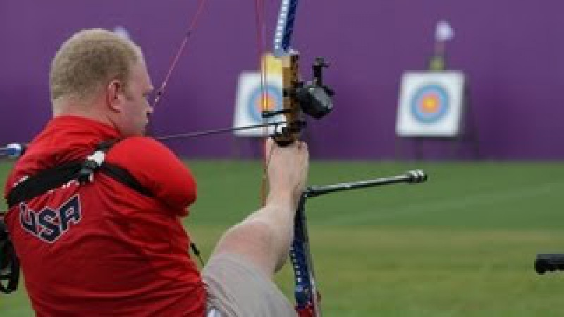 Archery - Stutzman (USA) v Forsberg (FIN) - Men's Ind. Compound Open Gold Medal - London 2012