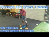 Mike Rodgers and Ashley Spencer Strength and Power Training