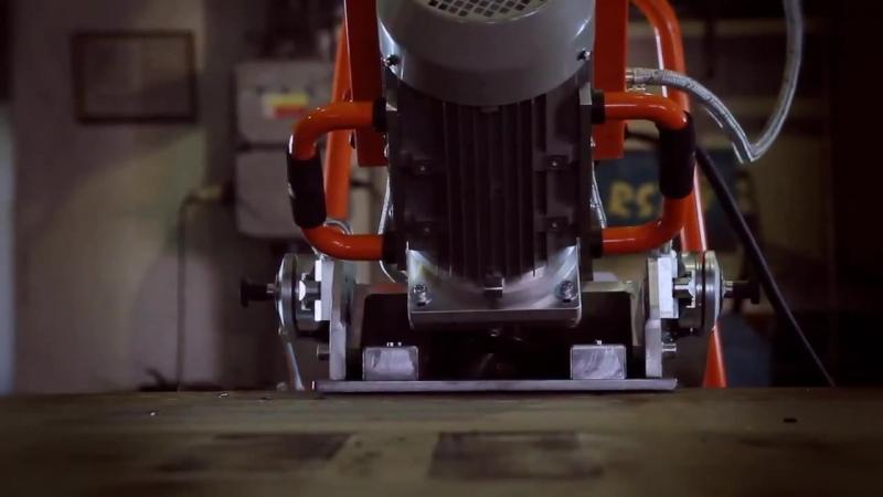 Кромкообрезной станок UZ50 3D манипулятор