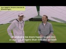 Andy Murray and Kevin Spacey serve up global tiger challenge at Wimbledon
