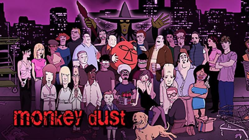 Monkey dust (38 обезьян) 1сезон