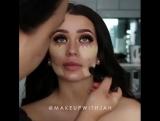 Восхитительная  идея макияжа. Как тебе?