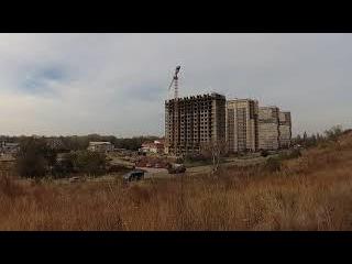 ЖК Кавказ Анапа, ход строительства, обзор новостройки с покупателем.