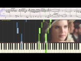 Deborah's Theme (Once Upon a Time in America)---Ennio Morricone (piano cover)(Ноты для фортепиано)