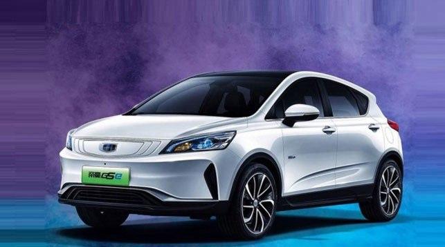 Geely представила электромобиль Emgrand GSe.