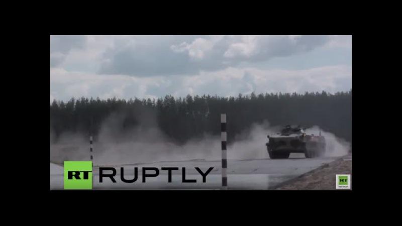 Internationale Armeespiele in Russland: Zusammenschnitt der jüngsten imposanten Manöver