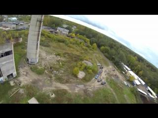 Мой второй роупджамп, с самого высокого объекта в Спб и Лен. области