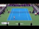 Теннис. WTA. Тайбэй. Хард  Лисицки Сабине - Козлова Катерина 0:2 (5:7, 4:6)