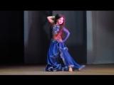 Шония Полина - ракс (13.01.2018 - отчетный концерт ШВТ