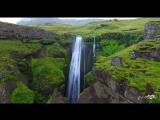 Исландия - красивое аэровидео - Amazing Iceland 4K drone footage