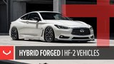 Vossen HF-2 Wheel Car Mash-up Hybrid Forged Series Audi S5 Q60 Range Rover Mustang