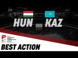 Венгрия - Казахстан - 0:3. Гол Орехова