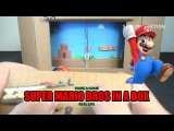 How to Make Super Mario Bros Game Using Cardboard ✅  Real Life Super Mario Bros   #Amazing DIY