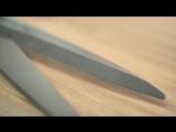 Ножницы Aurora для скользящих тканей серии AU 106.mp4