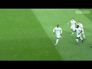 Лидс 1:0 Болтон. Первый гол Калеба Экубана в Чемпионшипе