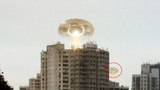 Ring-shaped UFO over CHINA Alien Abduction