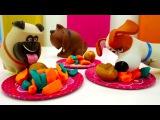 #ИГРУШКИ из мультика 🐈 Тайная жизнь домашних животных. 🐕 Детский сад КАПУКИ КА ...