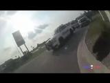 Отчаянная, гибкая девушка угнала тачку полицейских. Техас