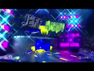 "WWE SmackDown! 01.05.2018 - Randy Orton and Jeff Hardy show each other respect on ""Miz TV"""
