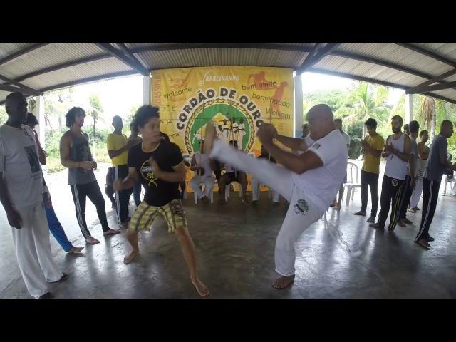 Capoeirando 2018. Roda do Mestre Canguru. Parte 7