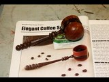 How to Turn a Traditional Wood Coffee Scoop