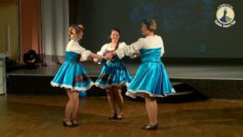 Счастливый случай СПб 04 12 16 Стилизация народ танца На завалинке