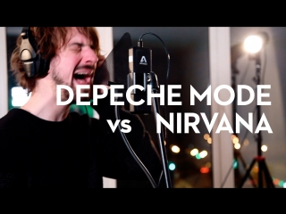 Depeche Mode / Nirvana   Time for Heroes mashup